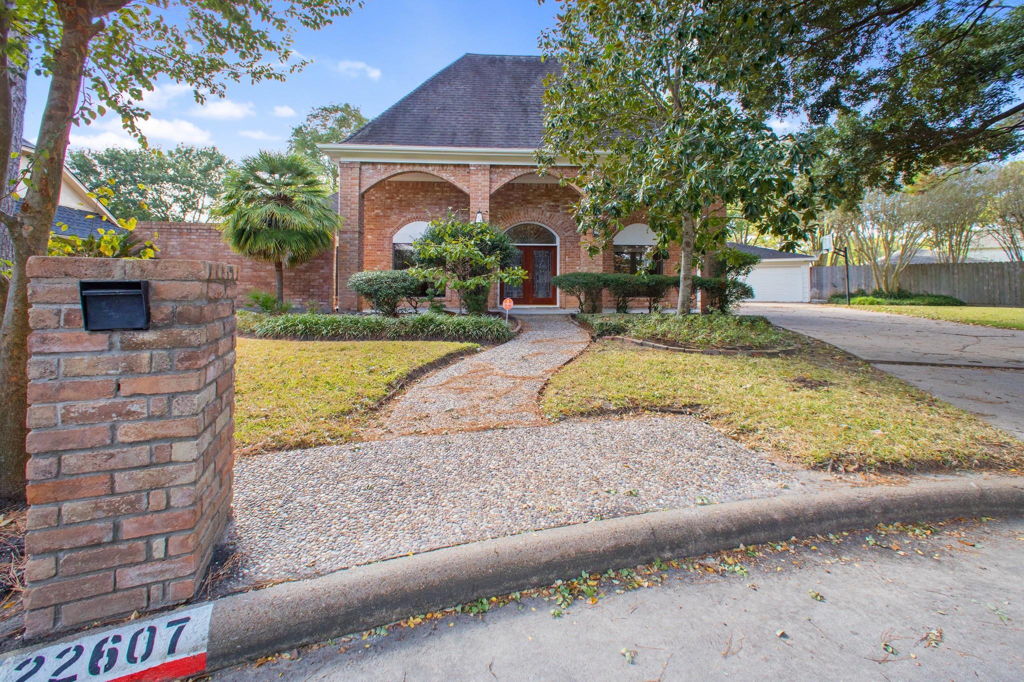 22607 Unicorns Horn Lane Property Photo - Katy, TX real estate listing