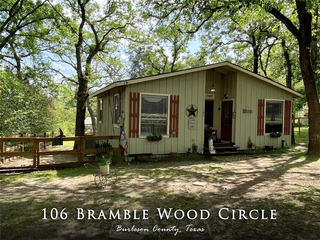 106 Bramble Wood Circle, Somerville, TX 77879 - Somerville, TX real estate listing