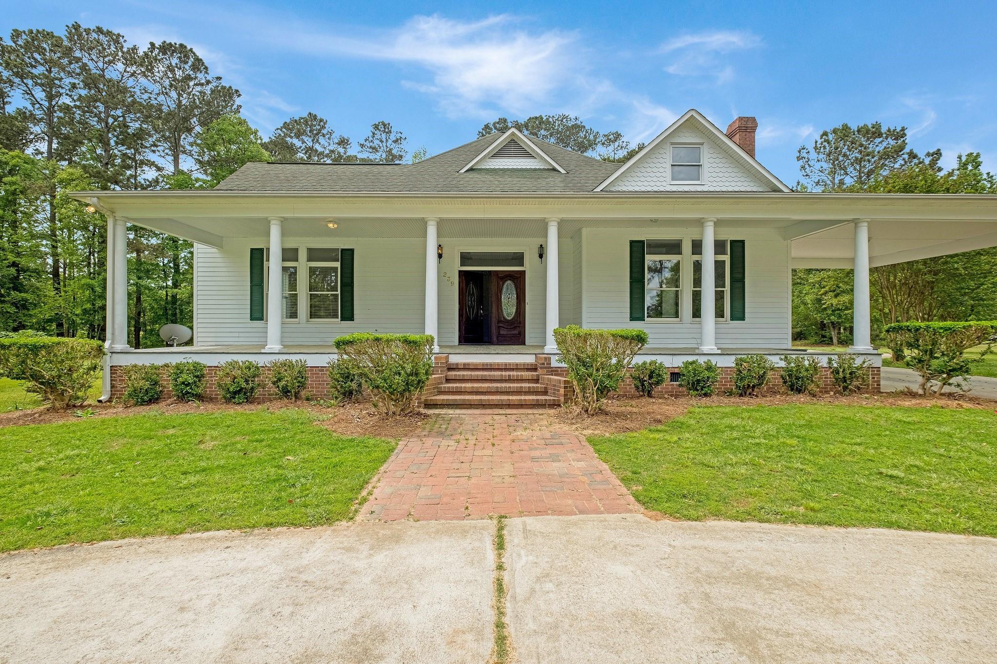 239 Victory Lane Property Photo - Washington, GA real estate listing