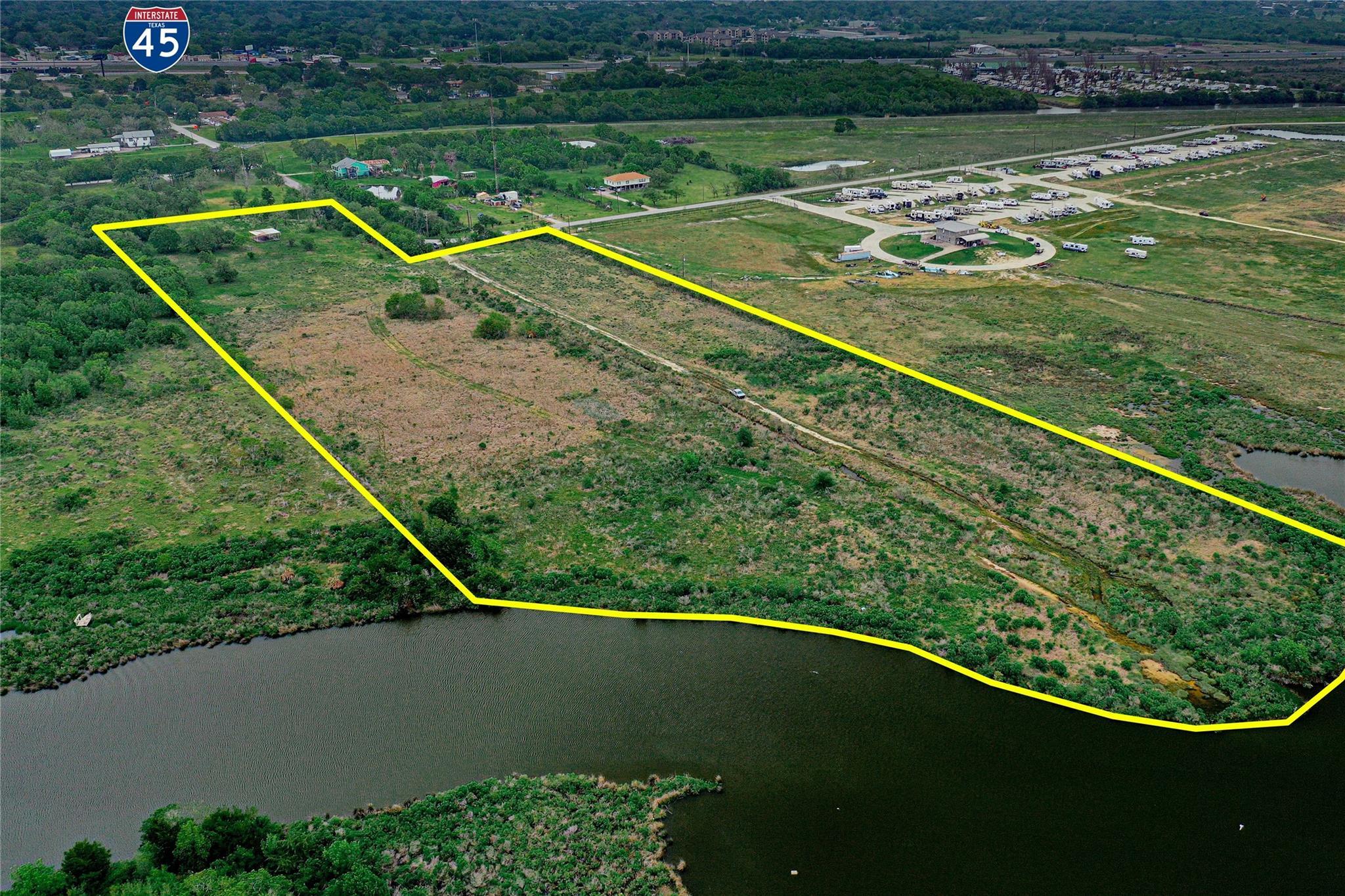 00 Lake Road Property Photo - La Marque, TX real estate listing