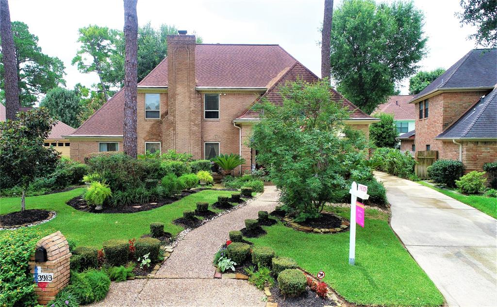 3919 Badger Forest Drive Property Photo - Houston, TX real estate listing