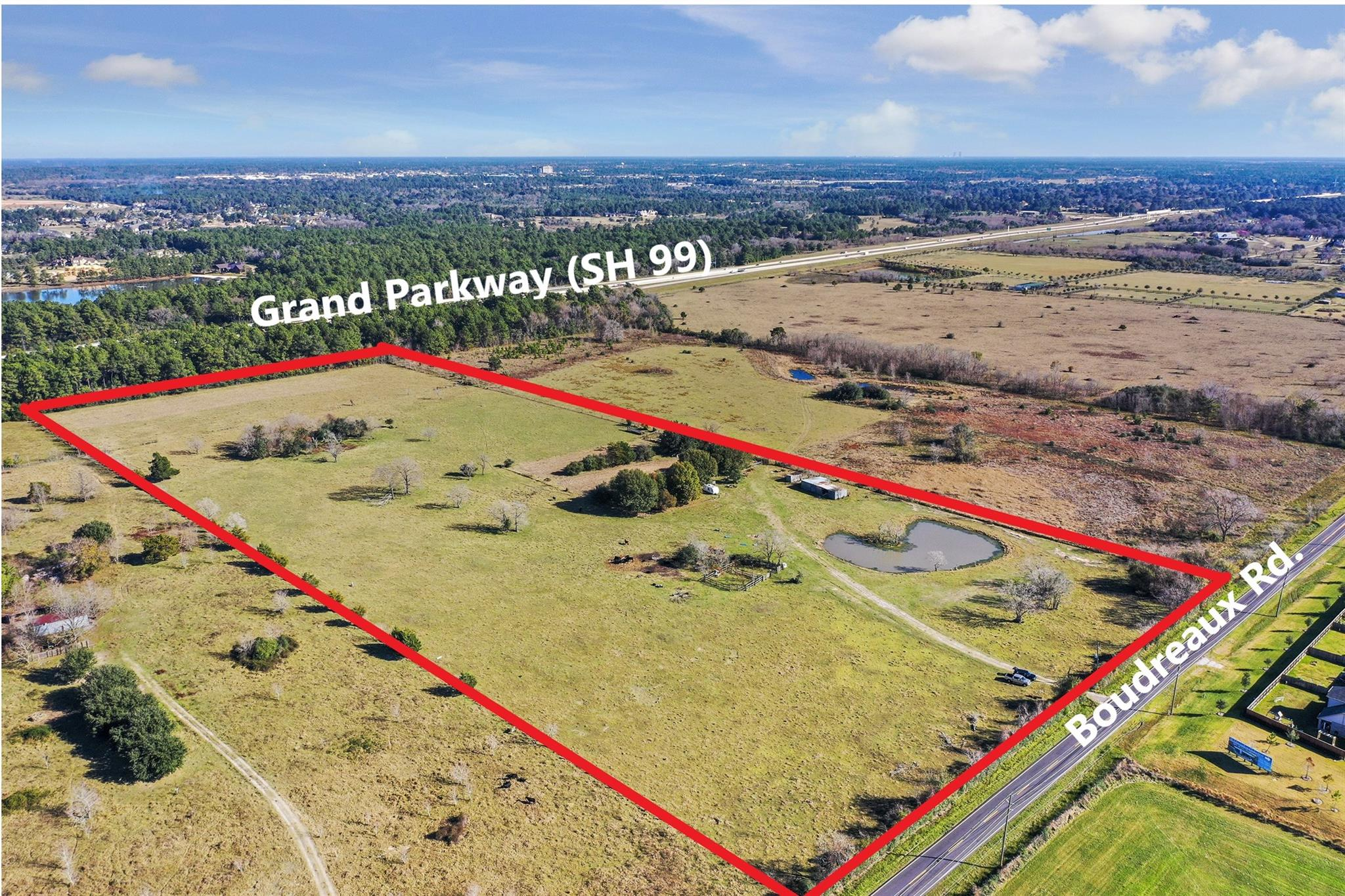 15802 Boudreaux Road Property Photo - Tomball, TX real estate listing