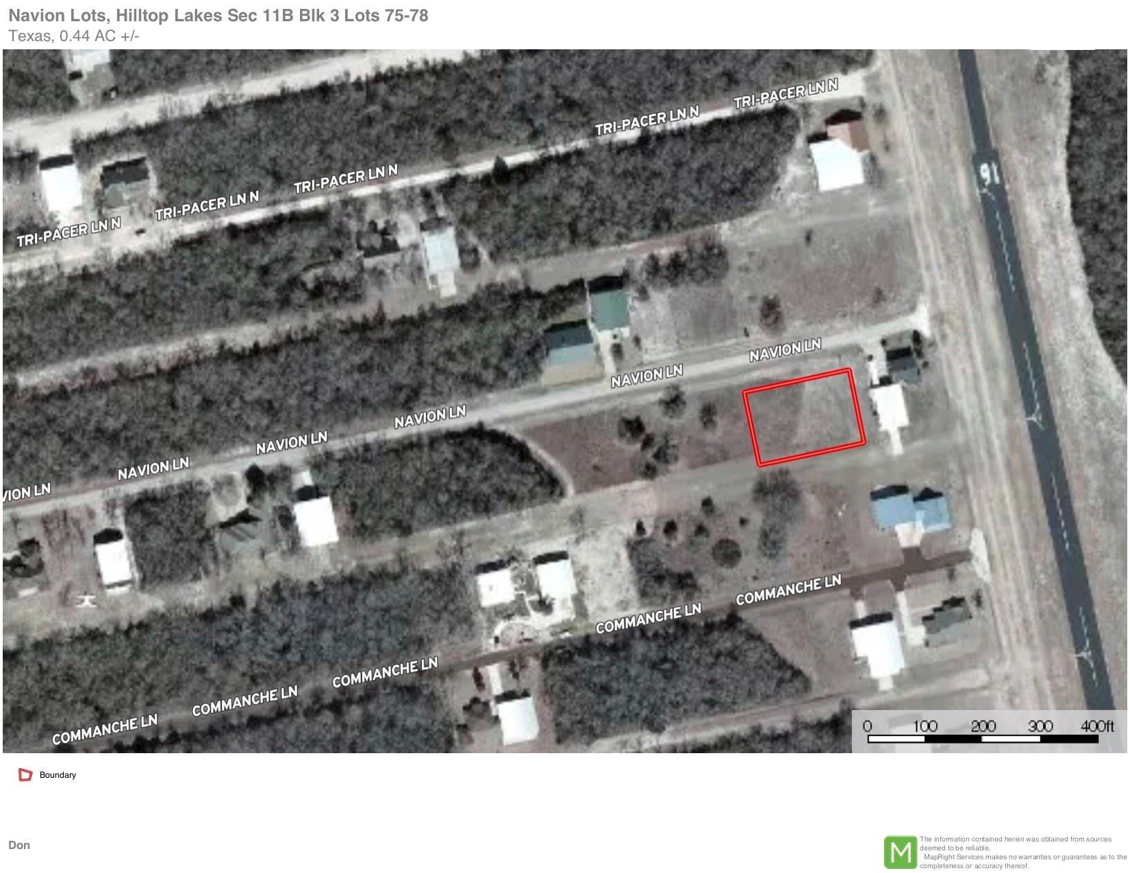 34 Navion Lane Property Photo - Hilltop Lakes, TX real estate listing