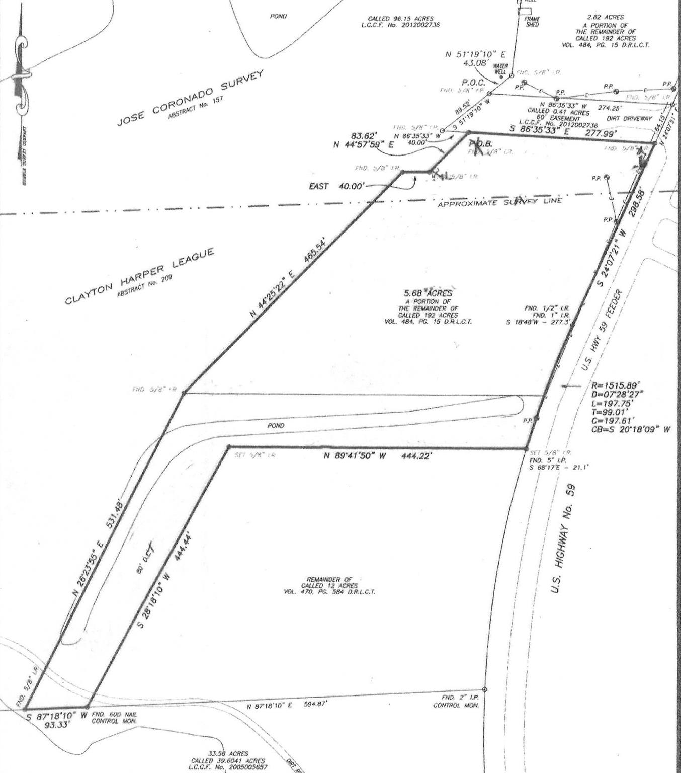 5.68 AC HWY 59 Property Photo - Cleveland, TX real estate listing