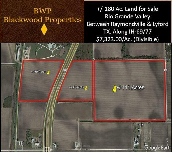 0 IH 69 Highway N, Raymondville, TX 78570 - Raymondville, TX real estate listing