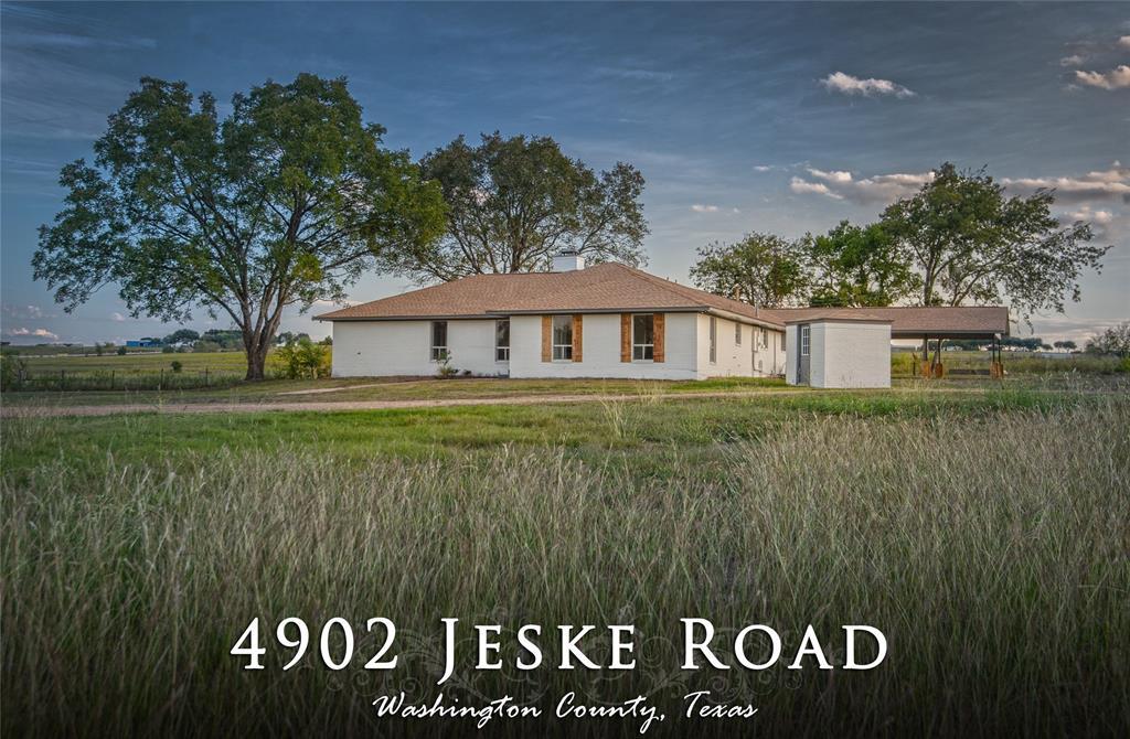 4902 Jeske Road, Brenham, TX 77833 - Brenham, TX real estate listing