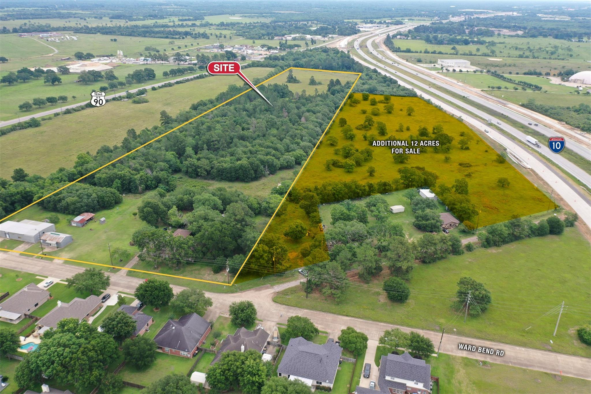 1408 Ward Bend Road Property Photo - Sealy, TX real estate listing