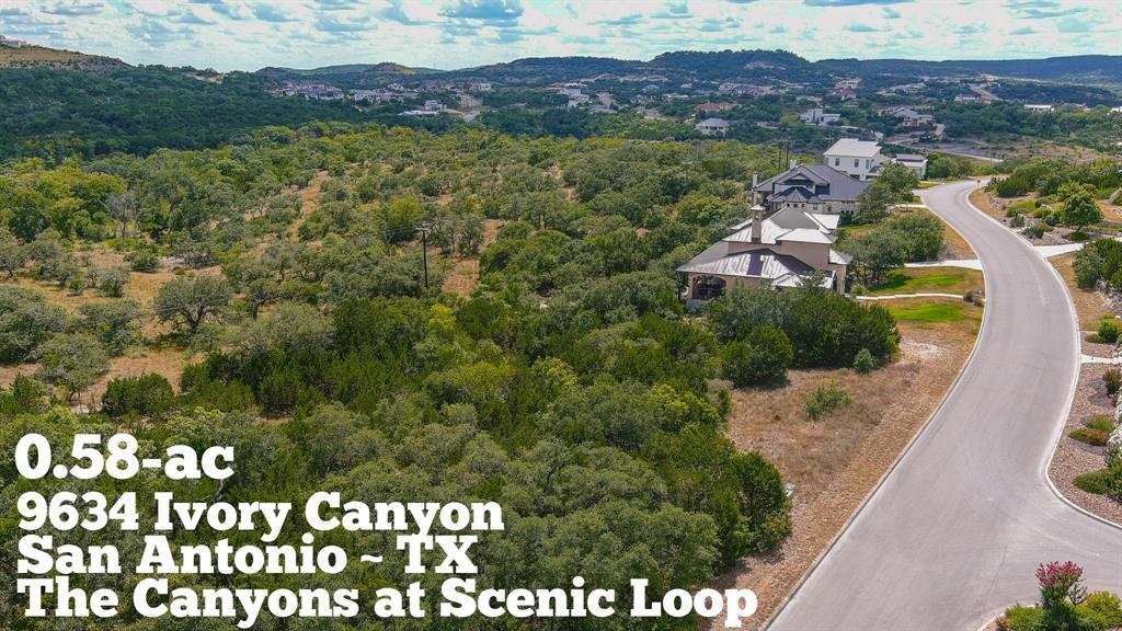 9634 Ivory Canyon Property Photo - San Antonio, TX real estate listing