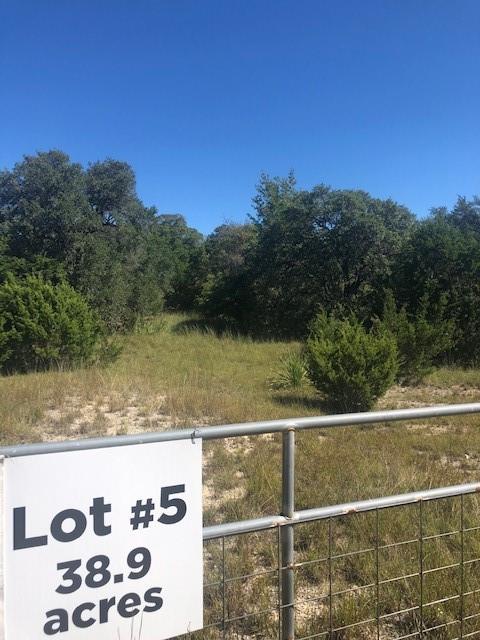 Lot 5 Busby Lane Property Photo - Boerne, TX real estate listing