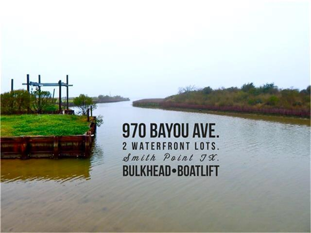 970 Bayou Avenue, Smith Point, TX 77514 - Smith Point, TX real estate listing