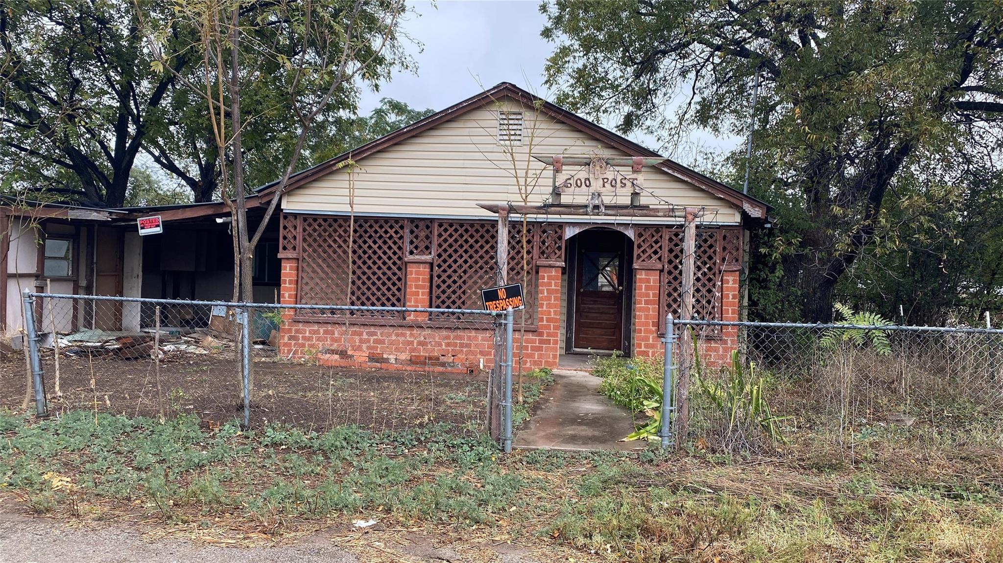 600 Post Street Property Photo - Coleman, TX real estate listing