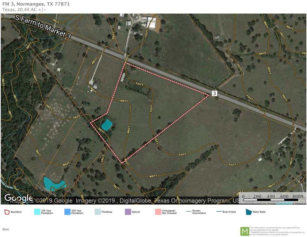 20.44 Acres FM 3 S, Normangee, TX 77871 - Normangee, TX real estate listing