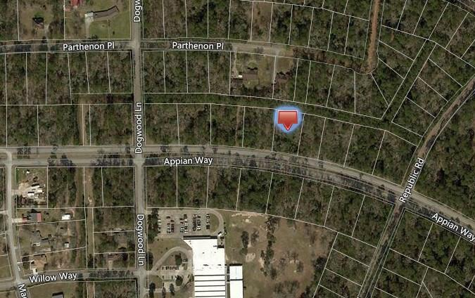 Lot 23 Appian Way Property Photo - Roman Forest, TX real estate listing