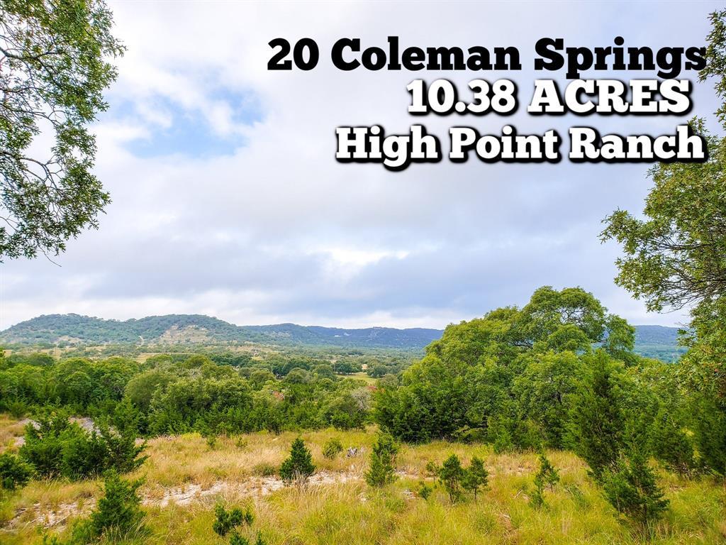 20 Coleman Springs Property Photo - Boerne, TX real estate listing