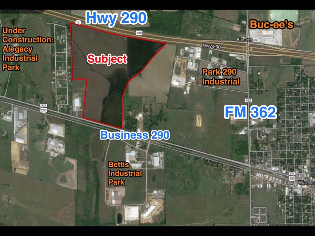 0 Hwy 290 West of FM 362 Highway Property Photo - Waller, TX real estate listing