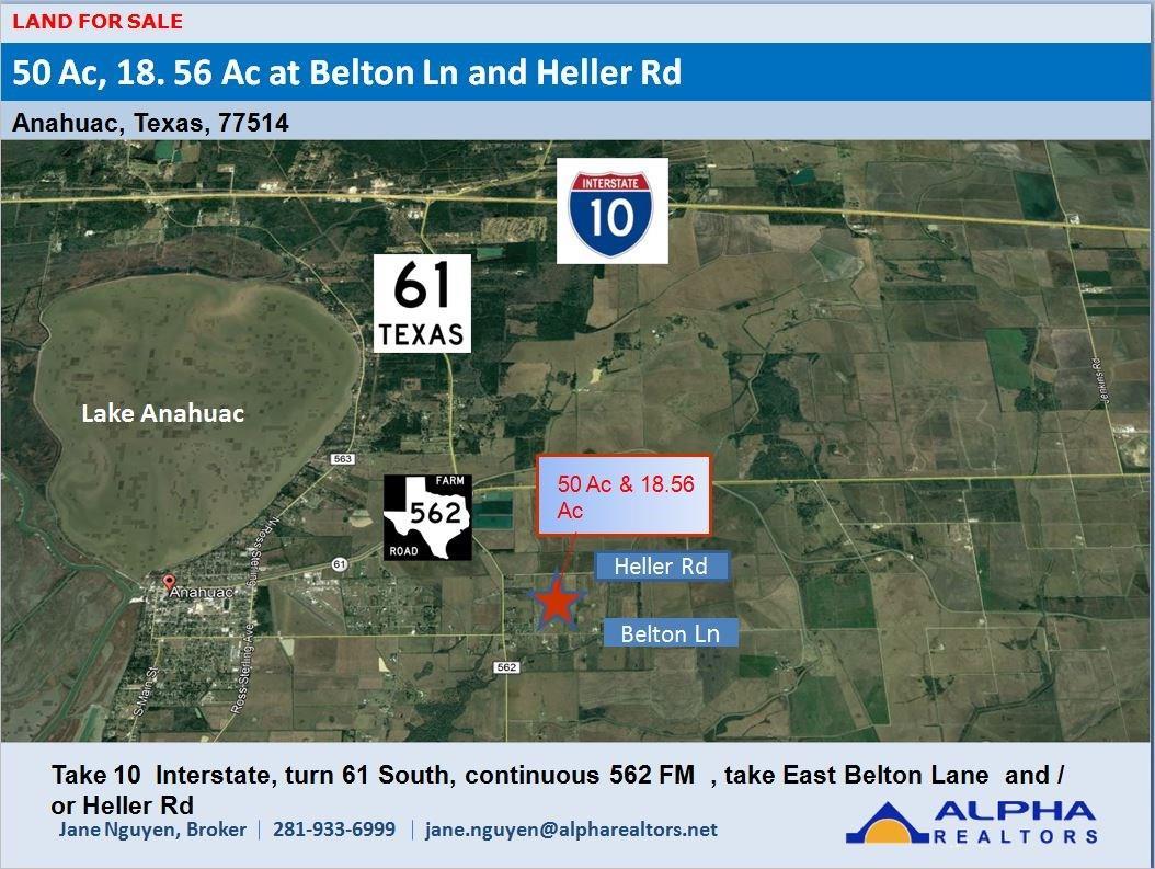 00 Belton Lane Extension Property Photo - Anahuac, TX real estate listing