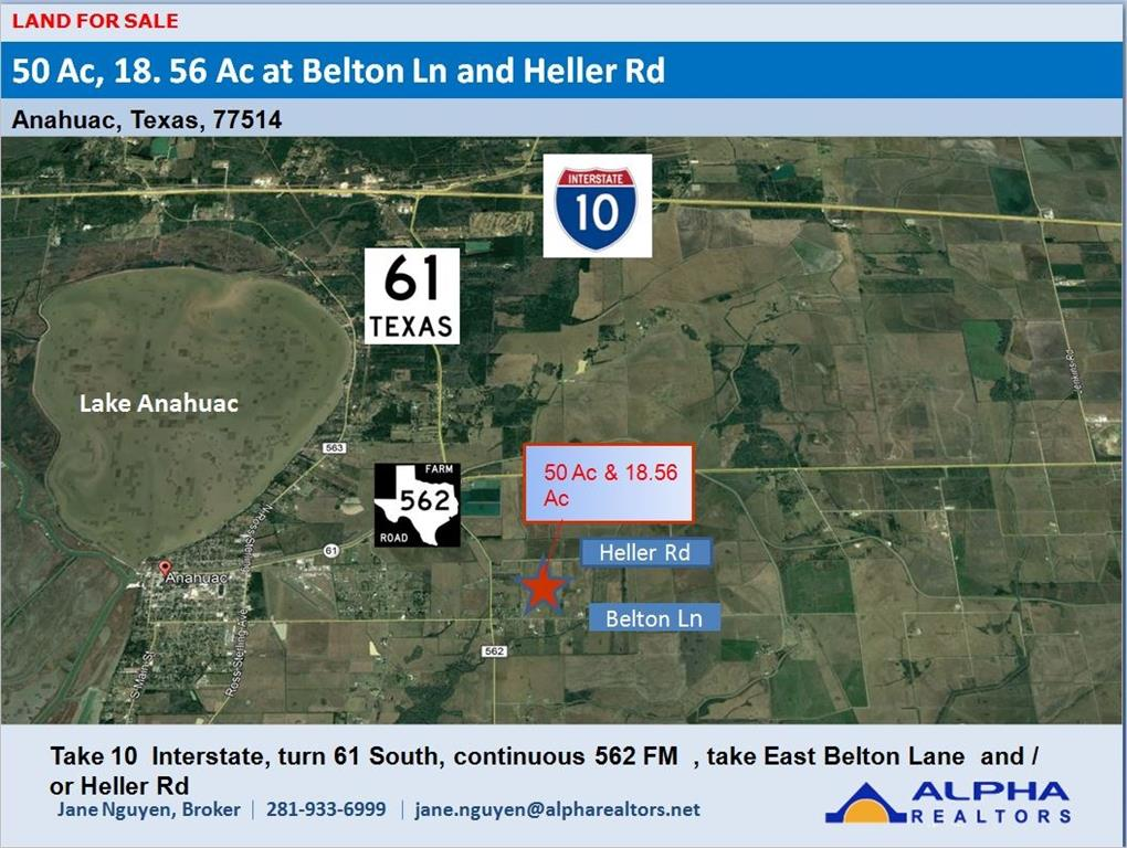 00 Belton Lane Extension Property Photo - Anahuac, TX real estate listing