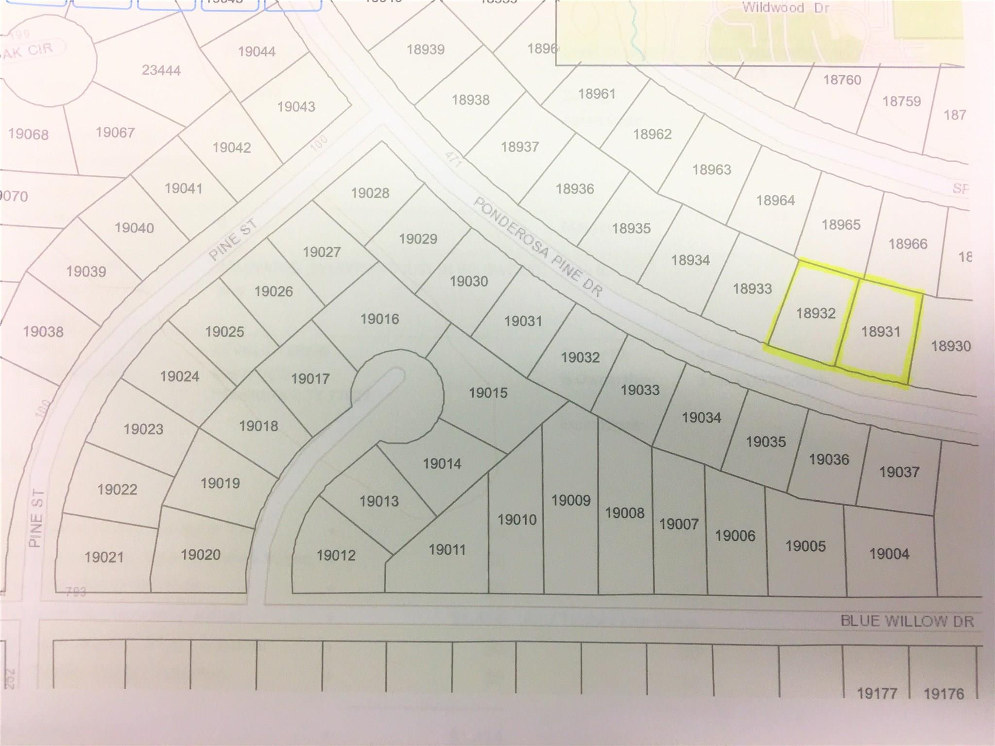000 Ponderosa Pine Lane Property Photo - Village Mills, TX real estate listing