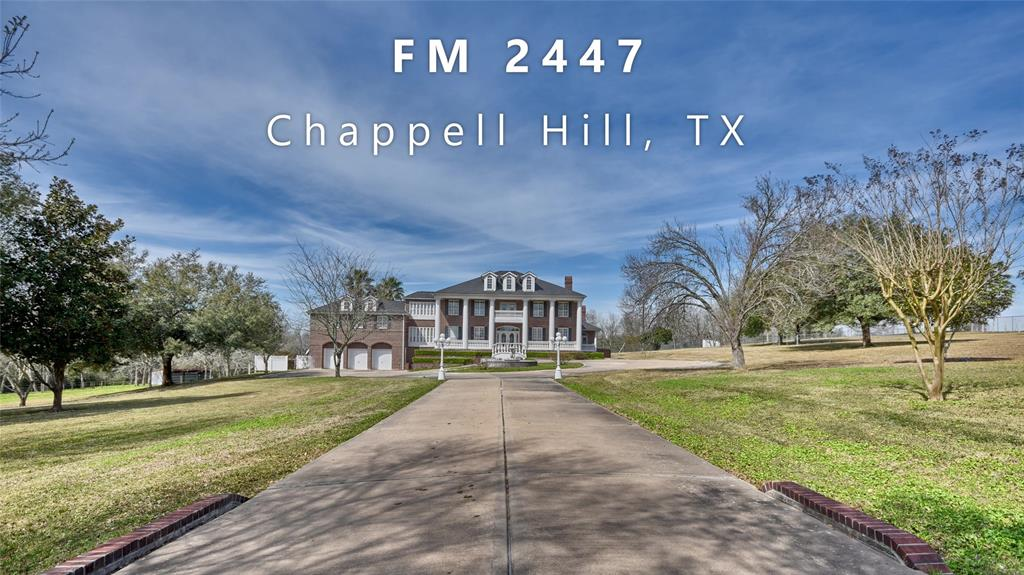 10909 Farm To Market 2447 E, Chappell Hill, TX 77426 - Chappell Hill, TX real estate listing