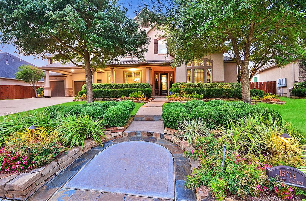 15714 Cascade Caverns Court Property Photo - Cypress, TX real estate listing