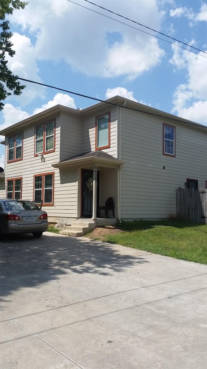 5408 Colt A/B Property Photo - Houston, TX real estate listing