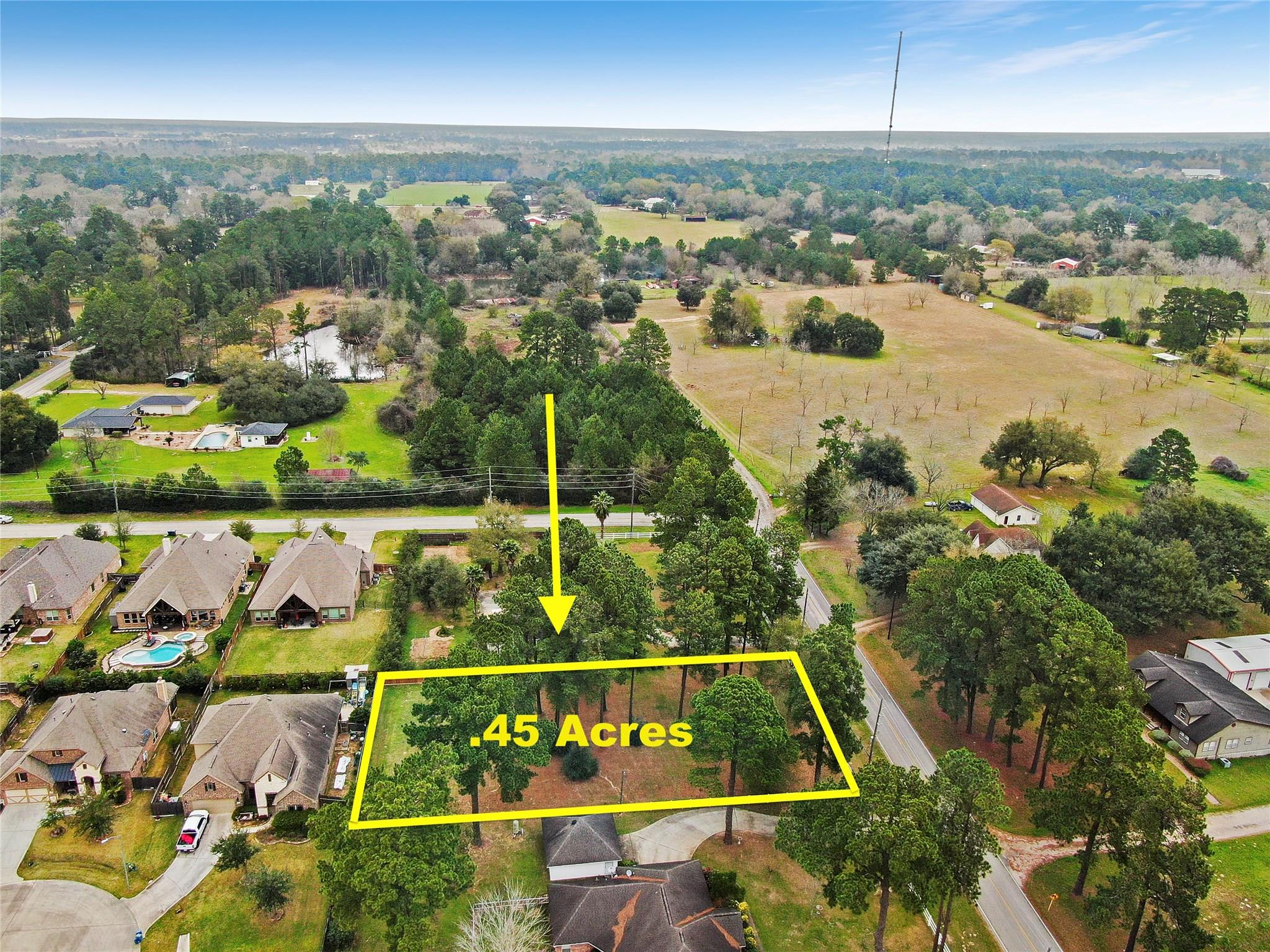 22243 Tomball Cemetery Road Property Photo