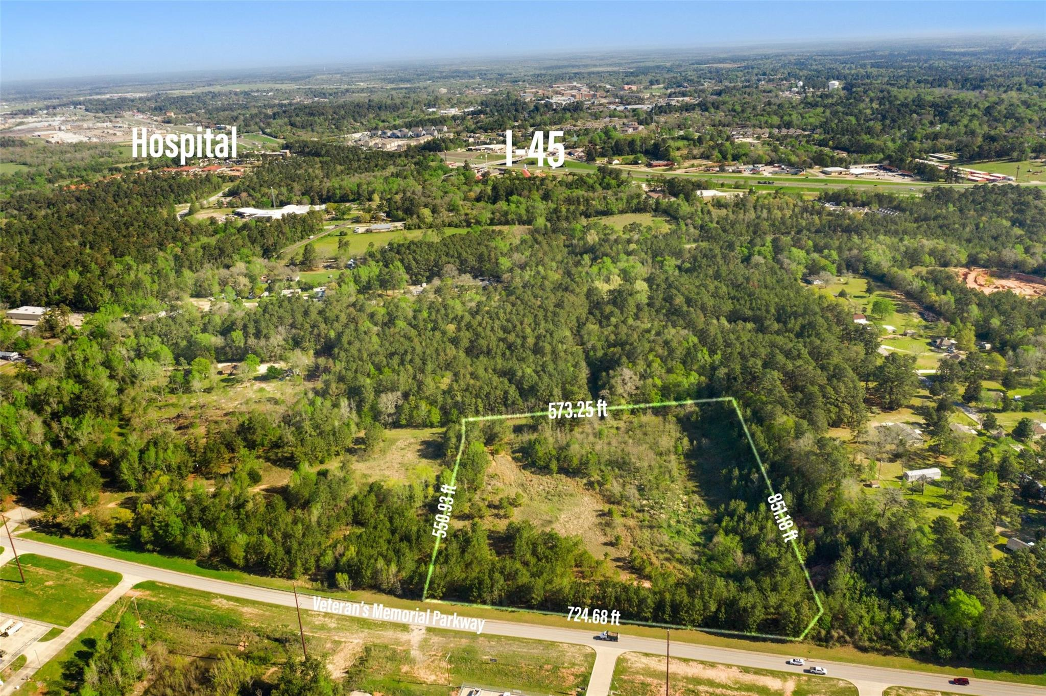 TBD Veterans Memorial Parkway Property Photo - Huntsville, TX real estate listing