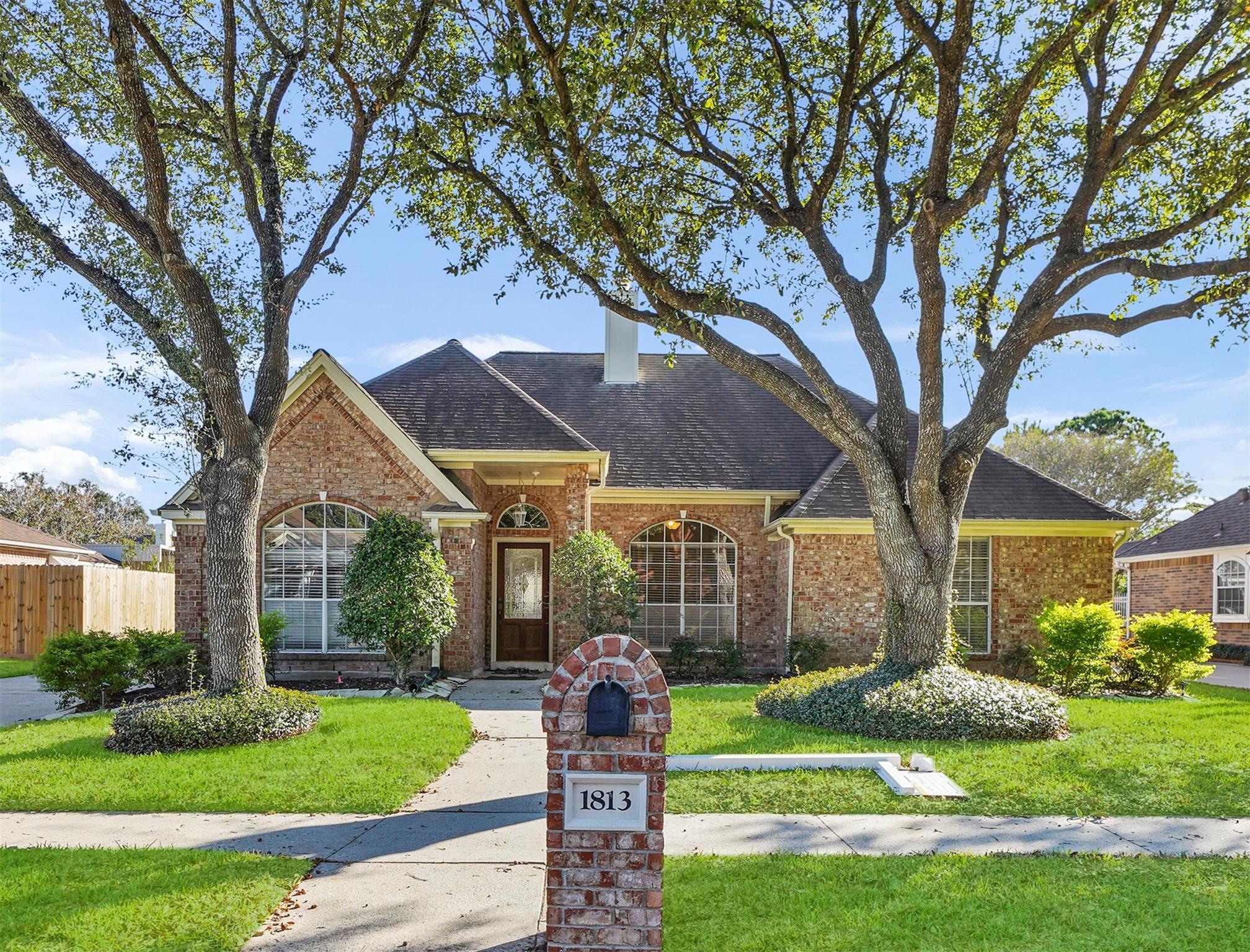 1813 Janell Rene Circle Property Photo - Deer Park, TX real estate listing