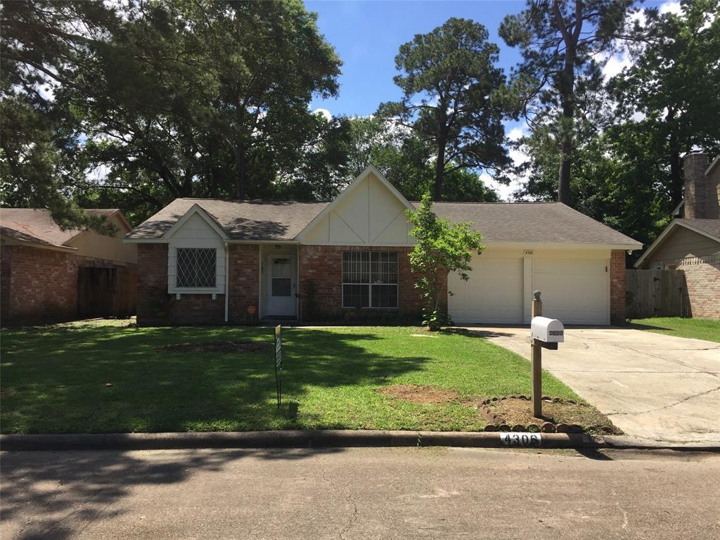 4306 Sloangate Drive Property Photo - Sring, TX real estate listing