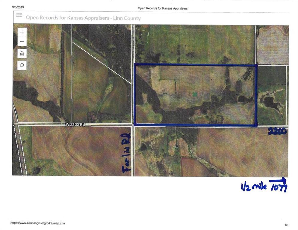00000 W 2200 Road Property Photo - Parker, KS real estate listing