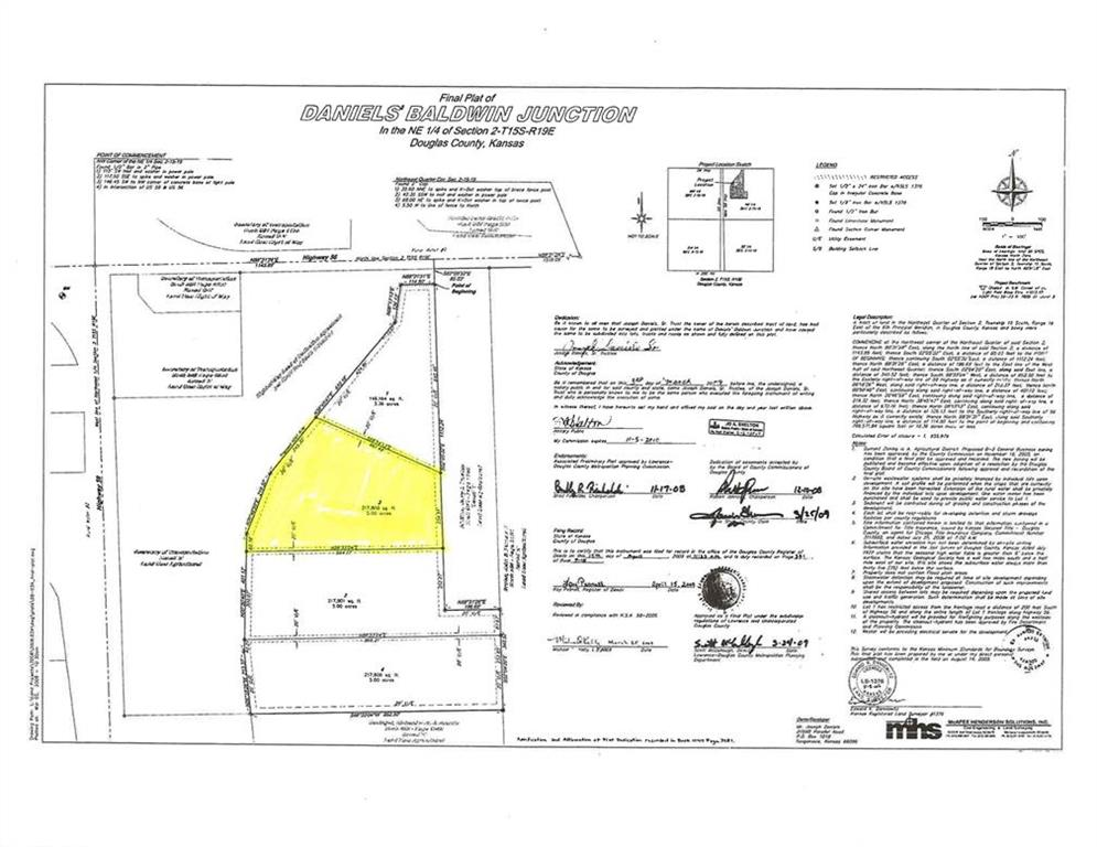 Lot 2 Highway 56 N/A Property Photo - Baldwin City, KS real estate listing