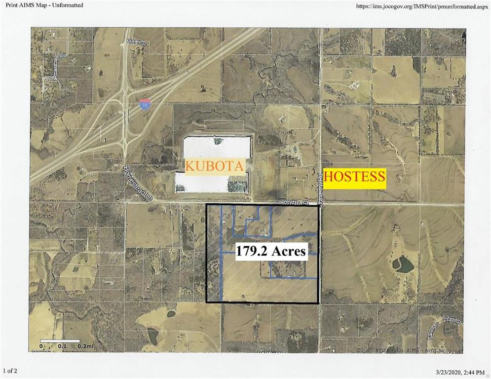 179ac 207th & Waverly Road Property Photo - Edgerton, KS real estate listing