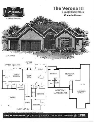 16165 W 165th Street Property Photo - Olathe, KS real estate listing