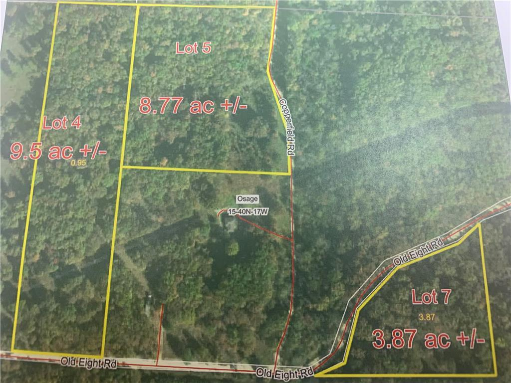 Lot 4 Old Eight Road Property Photo - Laurie, MO real estate listing