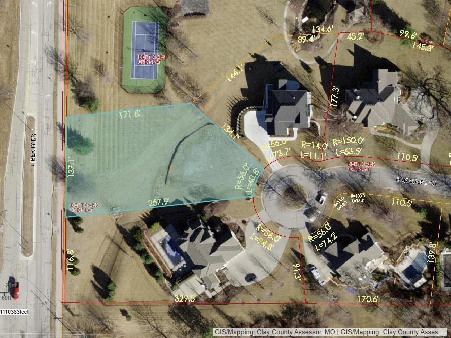 Lot 2A Oak Crest Drive Property Photo - Liberty, MO real estate listing