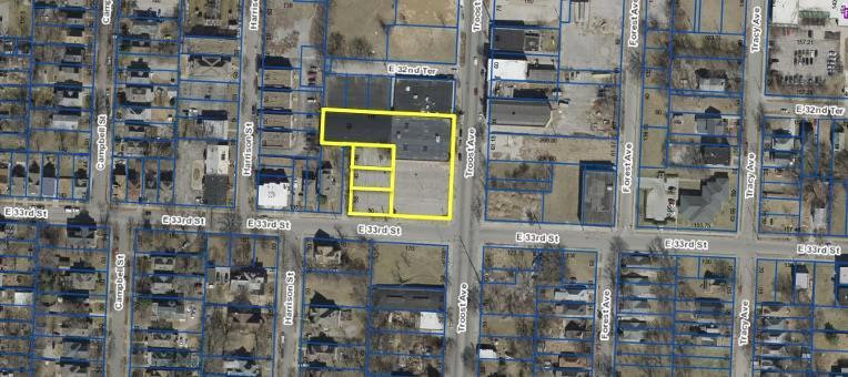 E 33rd & Troost Avenue Property Photo - Kansas City, MO real estate listing