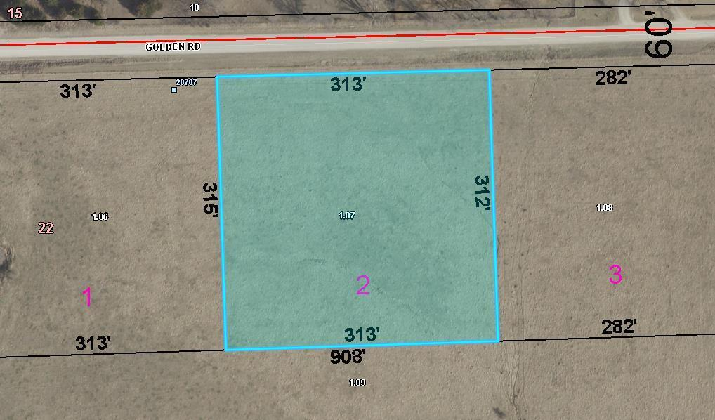 Lot 2 Golden Road Property Photo - Linwood, KS real estate listing