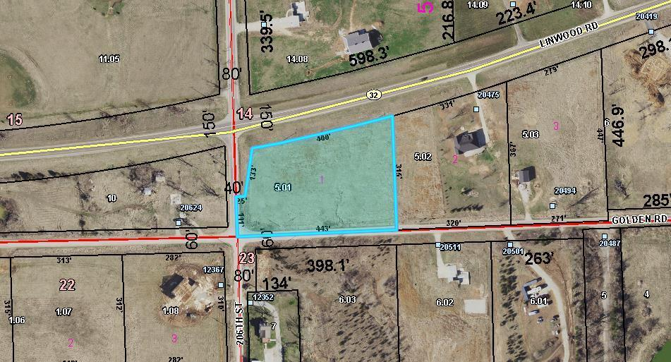 Lot 1 Linwood Road Property Photo - Linwood, KS real estate listing
