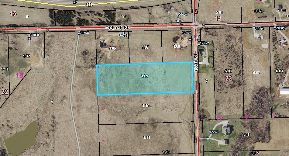 Lot 4 206th Street Property Photo - Linwood, KS real estate listing