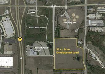 K-7 & 83rd Street Property Photo - Lenexa, KS real estate listing