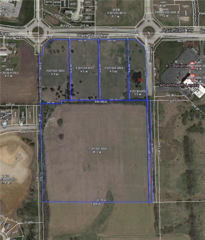 K-7 & Prairie Star Parkway Property Photo - Lenexa, KS real estate listing
