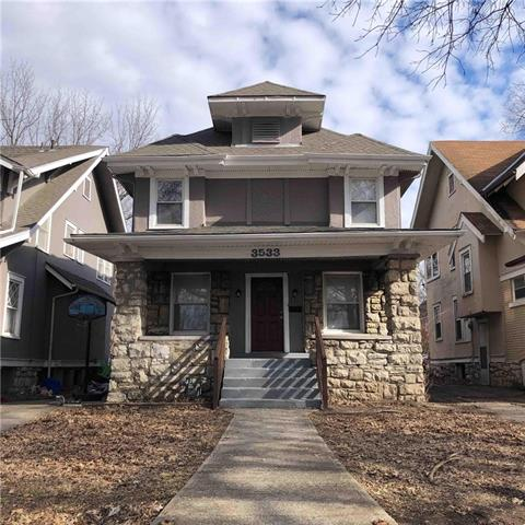 3533 Benton Boulevard Property Photo - Kansas City, MO real estate listing