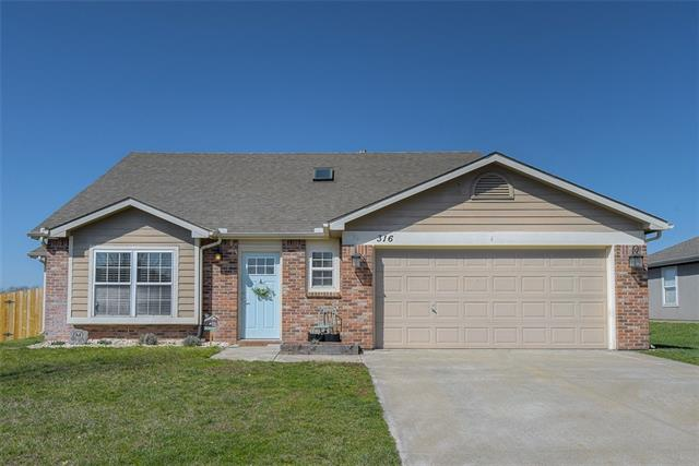 316 W 26th Street Property Photo - Eudora, KS real estate listing
