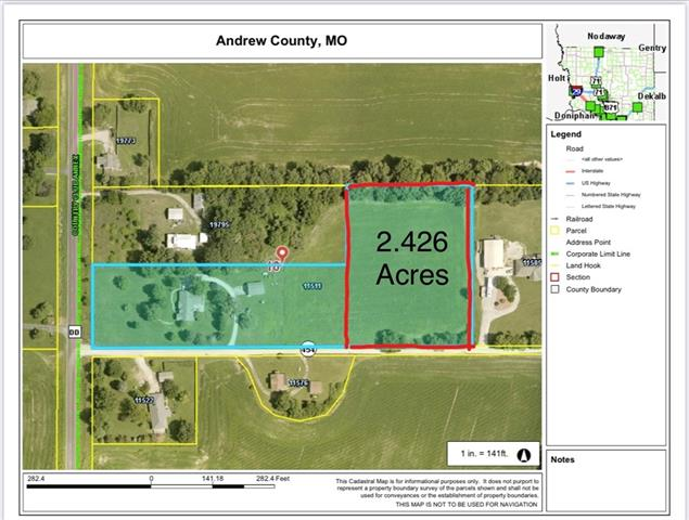 Co Rd 454 Tract C N/A Property Photo - Country Club, MO real estate listing