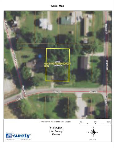 605 E 10th Street Property Photo - Pleasanton, KS real estate listing