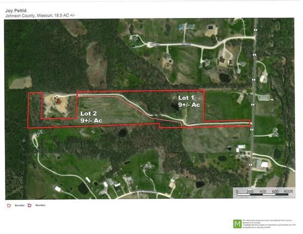 Lot 1 Z Highway Property Photo - Bates City, MO real estate listing