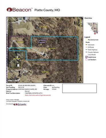 6345 Union Chapel Road Property Photo