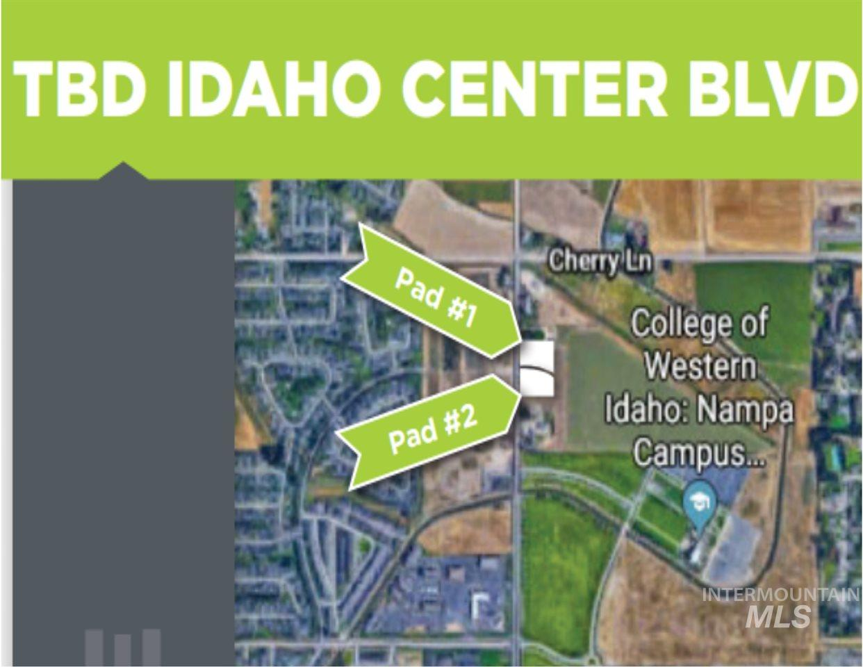 TBD Idaho Center Blvd Property Photo - Nampa, ID real estate listing