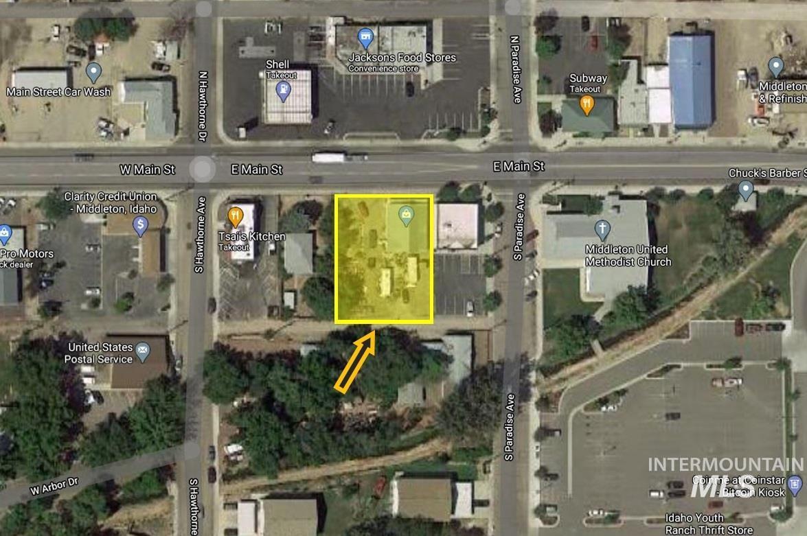 12 & 14 E Main Street Property Photo - Middleton, ID real estate listing