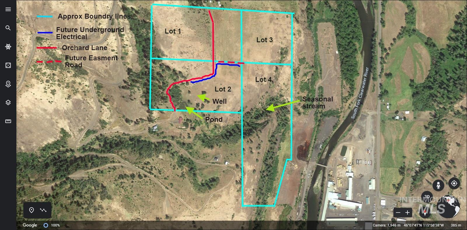 TBD Orchard Lane Parcel 7 Property Photo - Kooskia, ID real estate listing